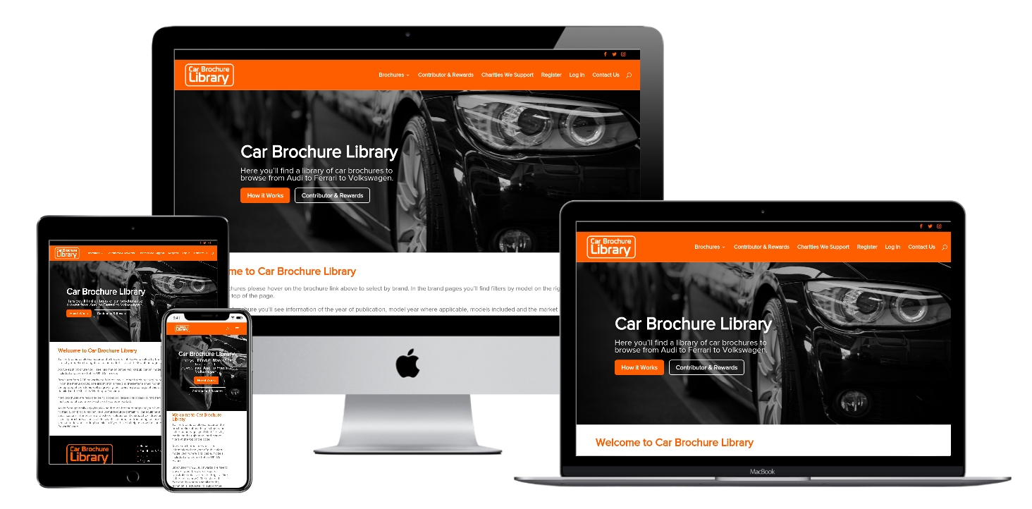 Car Brochure Library